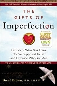 Book Cover Brene Brown Gifts of Imperfection
