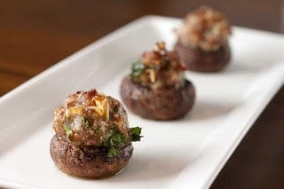 keto friendly sausage stuffed mushrooms