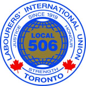 Labourers' International Union Toronto Logo